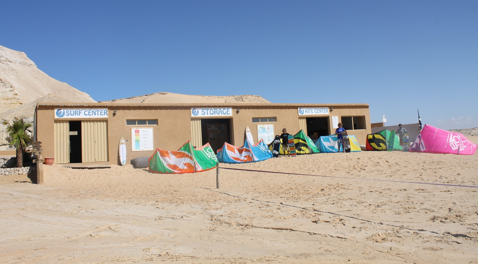 nautical center - centre nautique - centro nautico - DAKHLA EVASION
