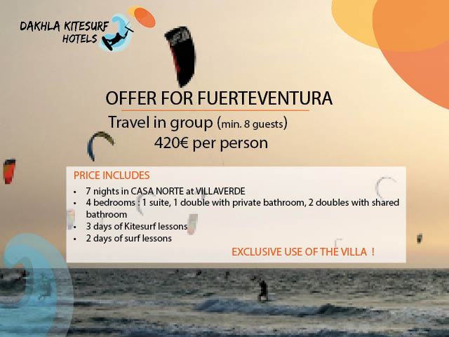 offer kitesurfing fuerteventuraEN