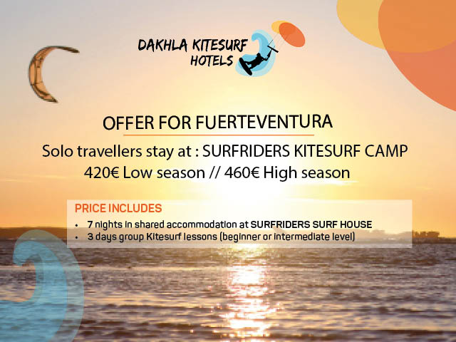 offer travel kitesurfing fuerteventura