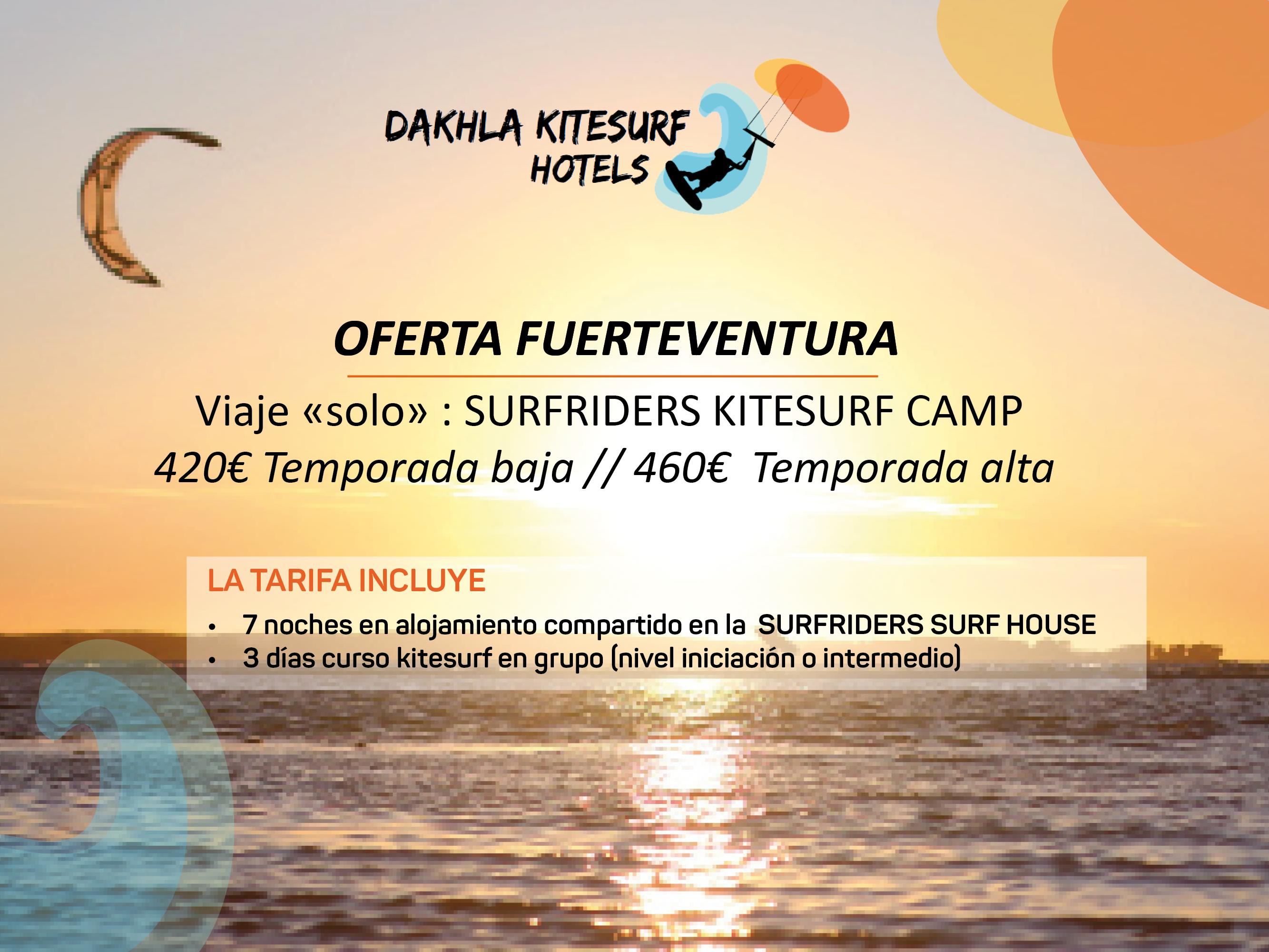 promotion voyage fuerteventura kitesurf