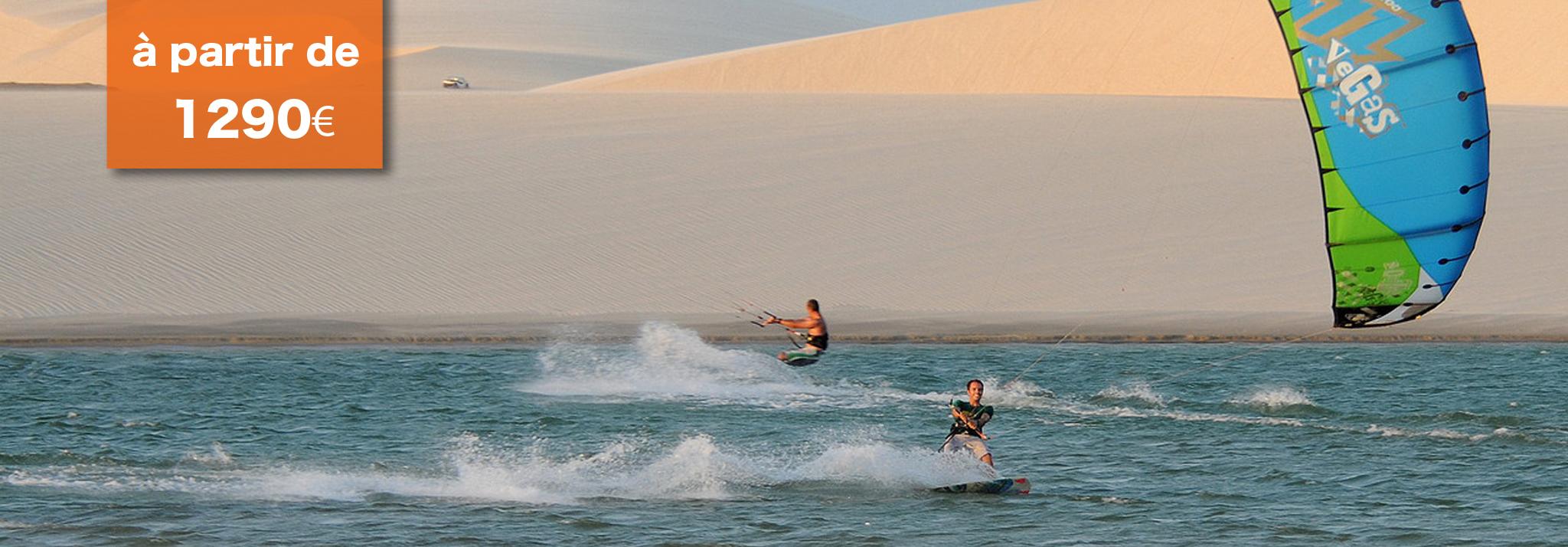 voyage brésil kitesurf
